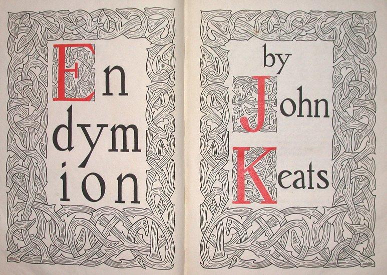 John Keats endymion